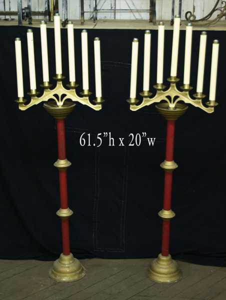 Used-Church-Items-Candle-Stand-1
