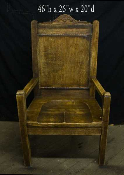 Catholic-Church-Antique-Chair-4