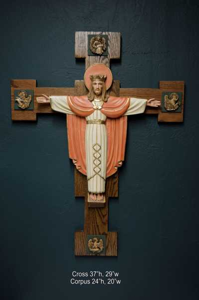 Jesus-and-Evangelists-Church-Crucifix