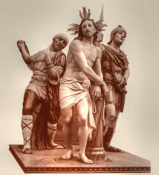 The-Flagellation-of Jesus-Statue