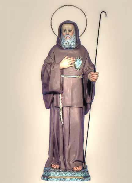 Saint-Francis-of-Paola-Statue