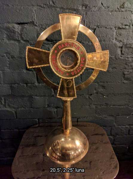 Used-Church-Antique-Monstrance--69