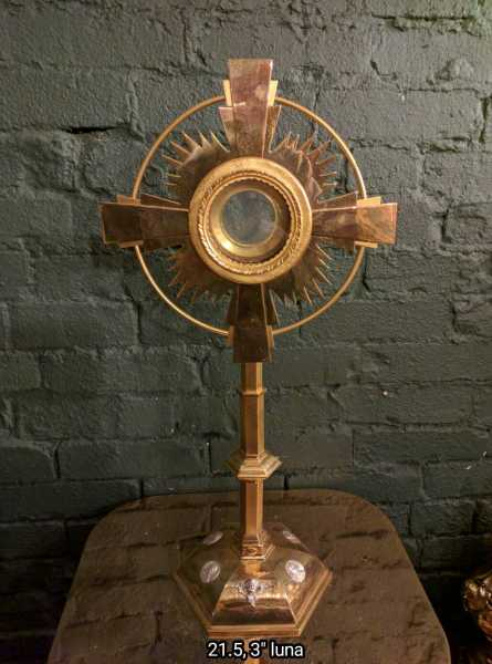 Used-Churhc-Item-Monstrance-Ostensorium-57