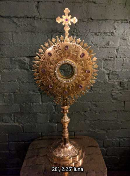 Used-Church-Antique-Monstrance--71