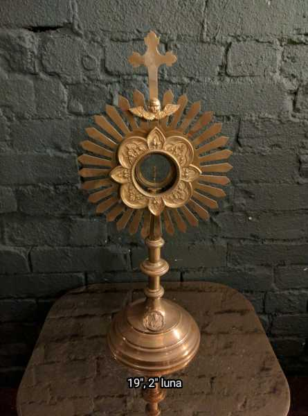 Used-Church-Antique-Monstrance--61