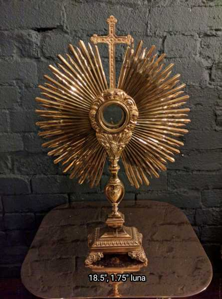 Used-Church-Antique-Monstrance--85