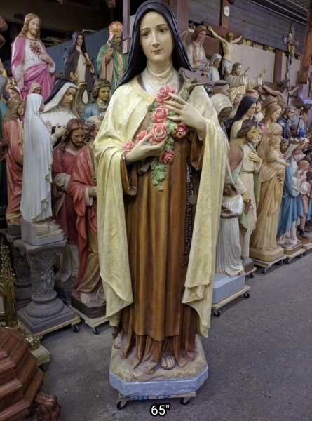 Saint-Theresa-Large-Daprato-Statue