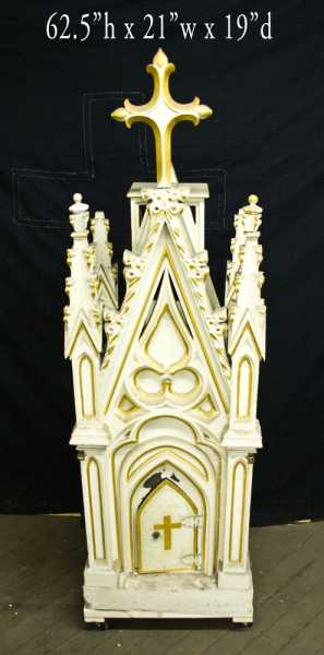 Catholic-Church-Antique-Gothic-Tabernacle-1