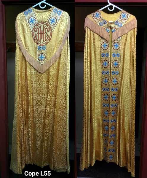 Gold-Brocade-Cope-1008GoCp